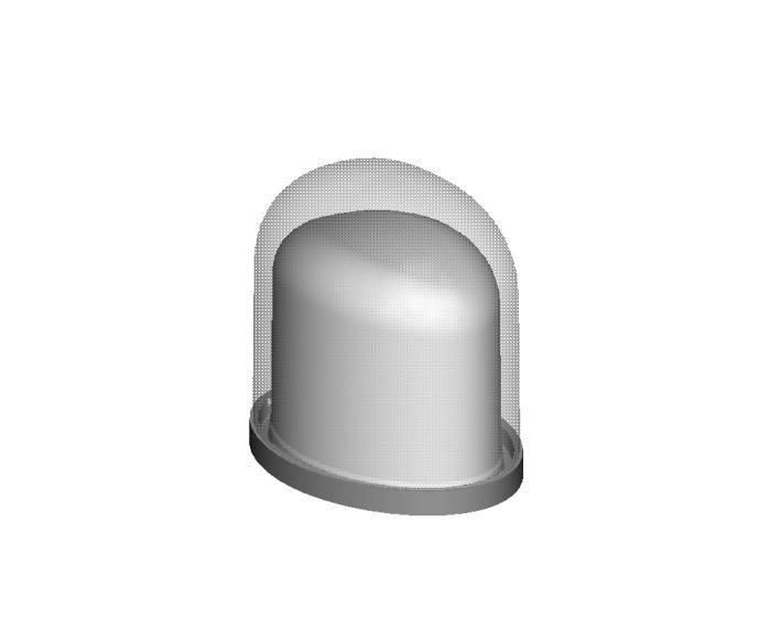 Acrylic Domed