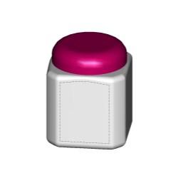 Beveled Jar